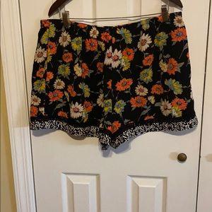 Xhilaration Flowy Floral Shorts
